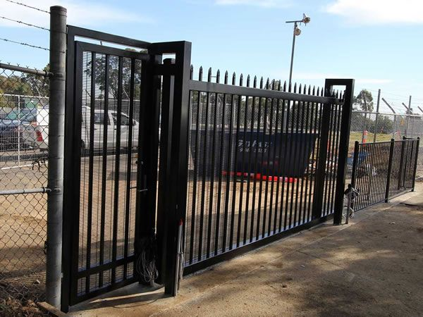 Security Fence Gate & Accessories